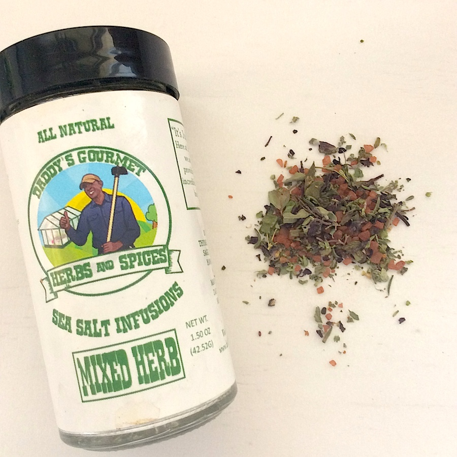 Daddy's Gourmet mixed herb sea salt infusion
