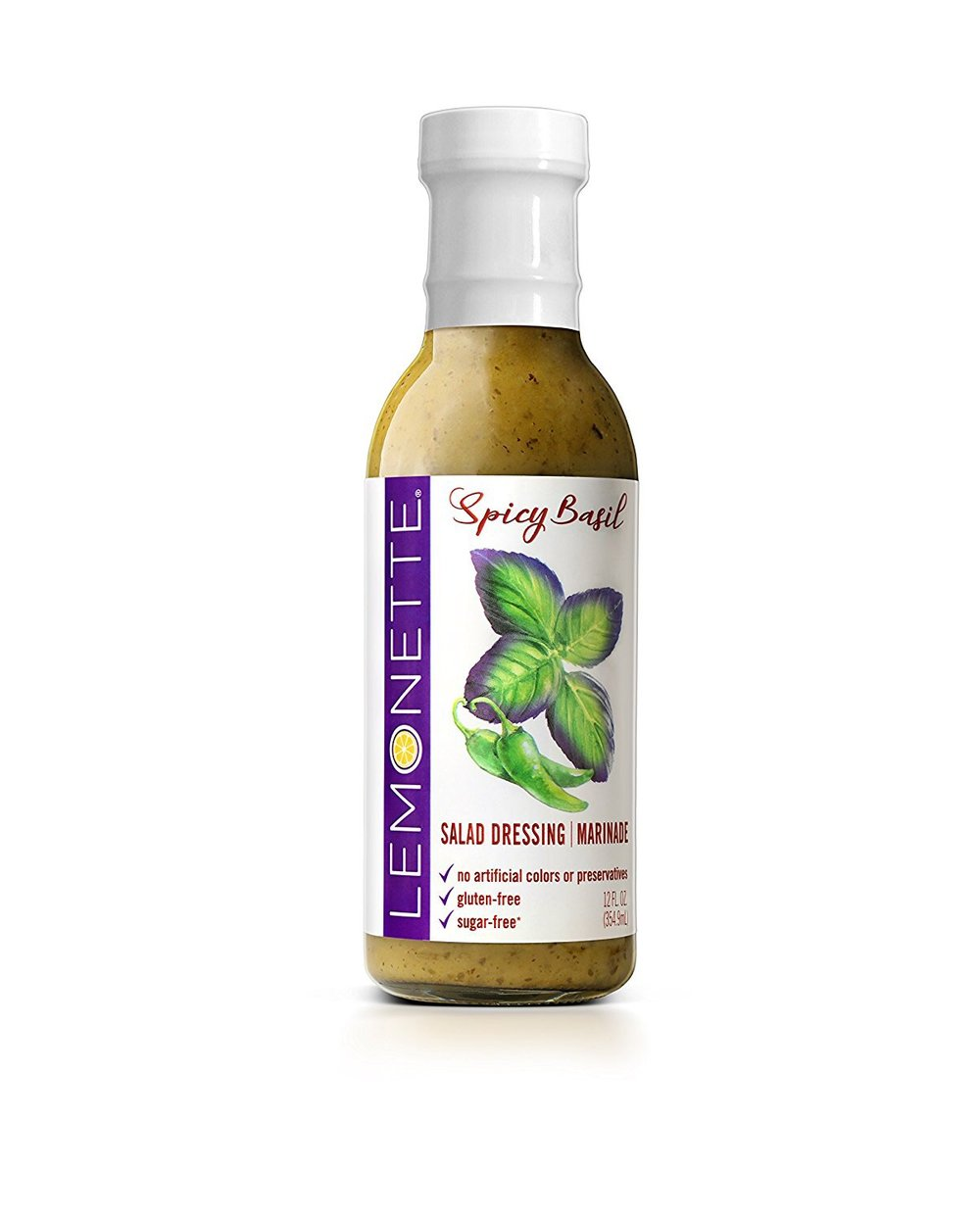 Lemonette Spicy Basil Dressing on Treatmo