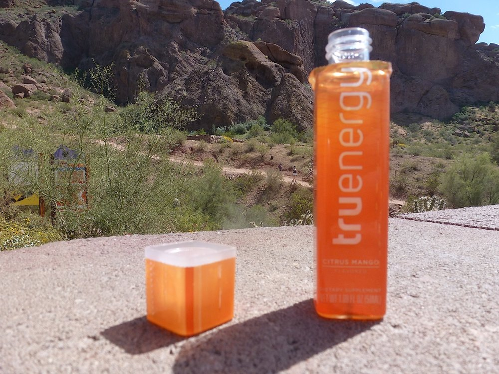 Use TruEnergy before you start and when you reach the summit.