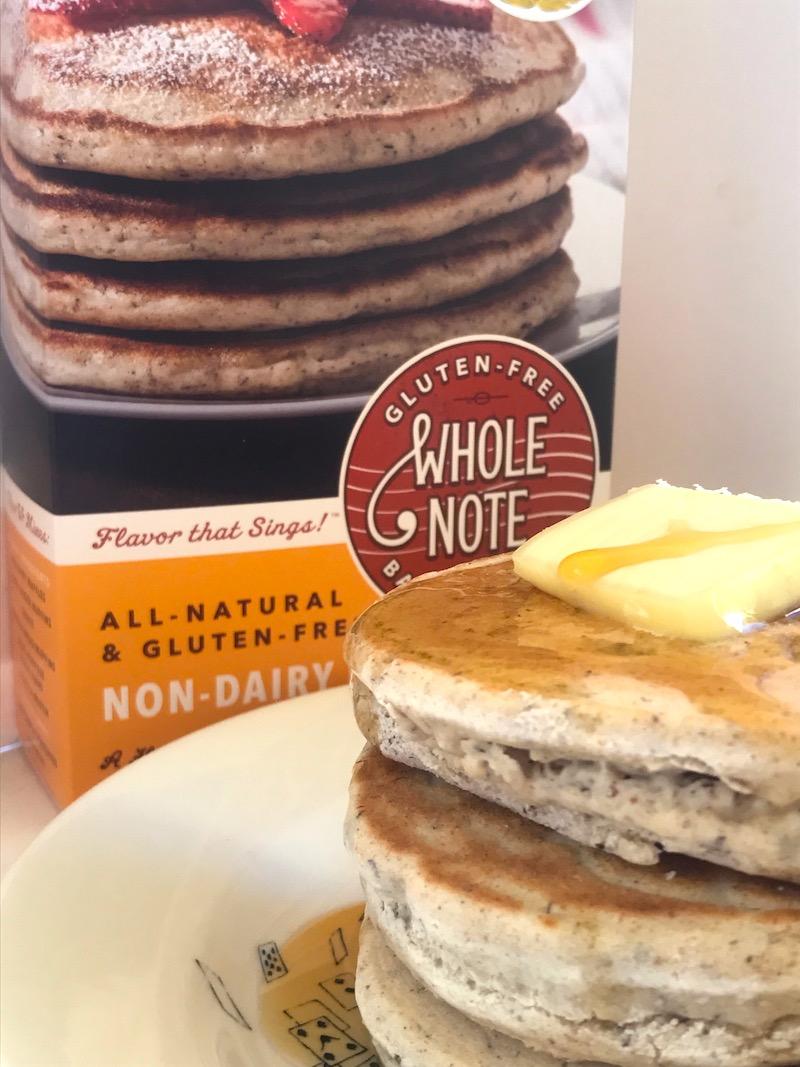 Whole Note seven whole grain pancake baking mix - $6