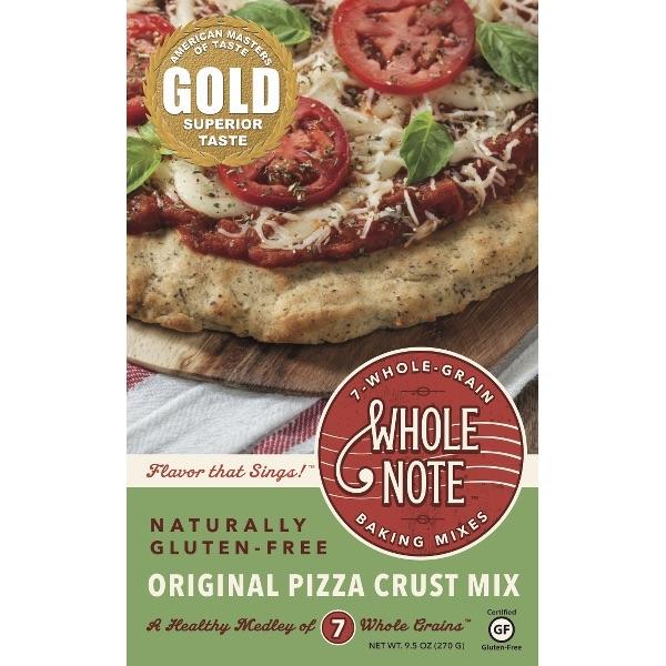 Whole Note Original Pizza Crust Mix - $6