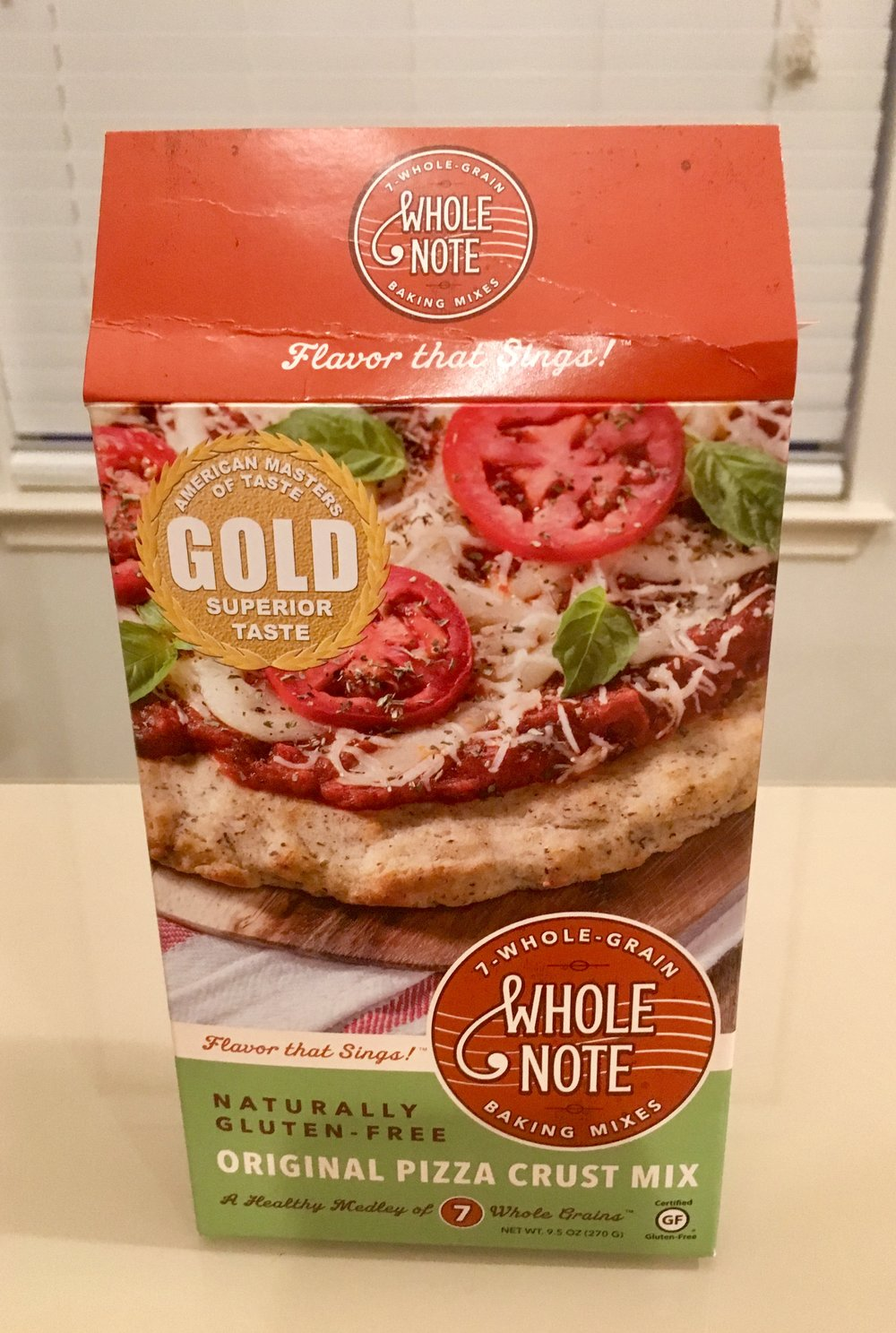 Whole Note pizza mix