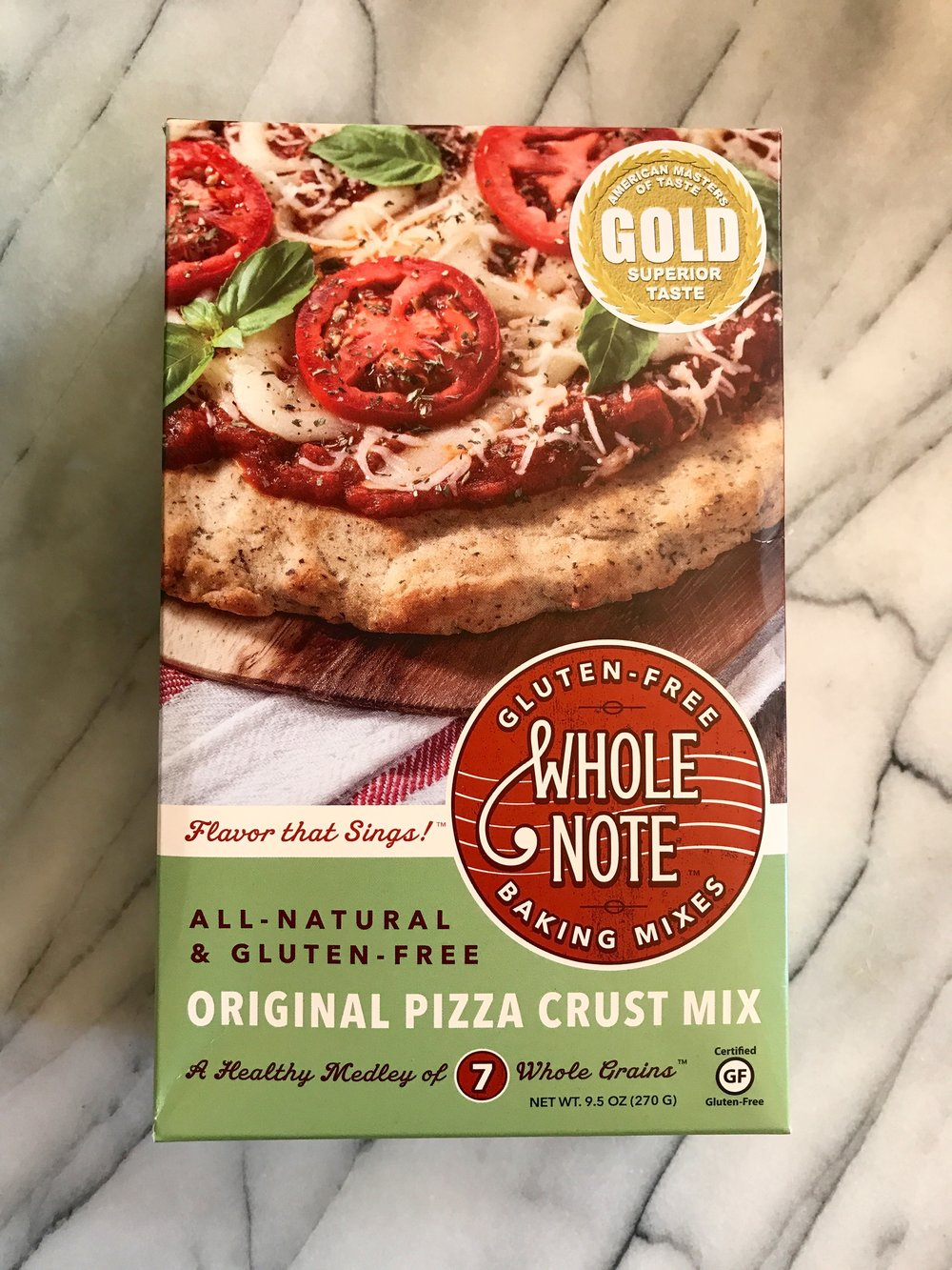 shop whole note gluten free pizza crust