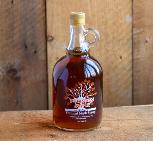 Fresh Vermont Maple Syrup instead of corn syrup by Purinton Maple - 2 Litre pack ships for free on Treatmo