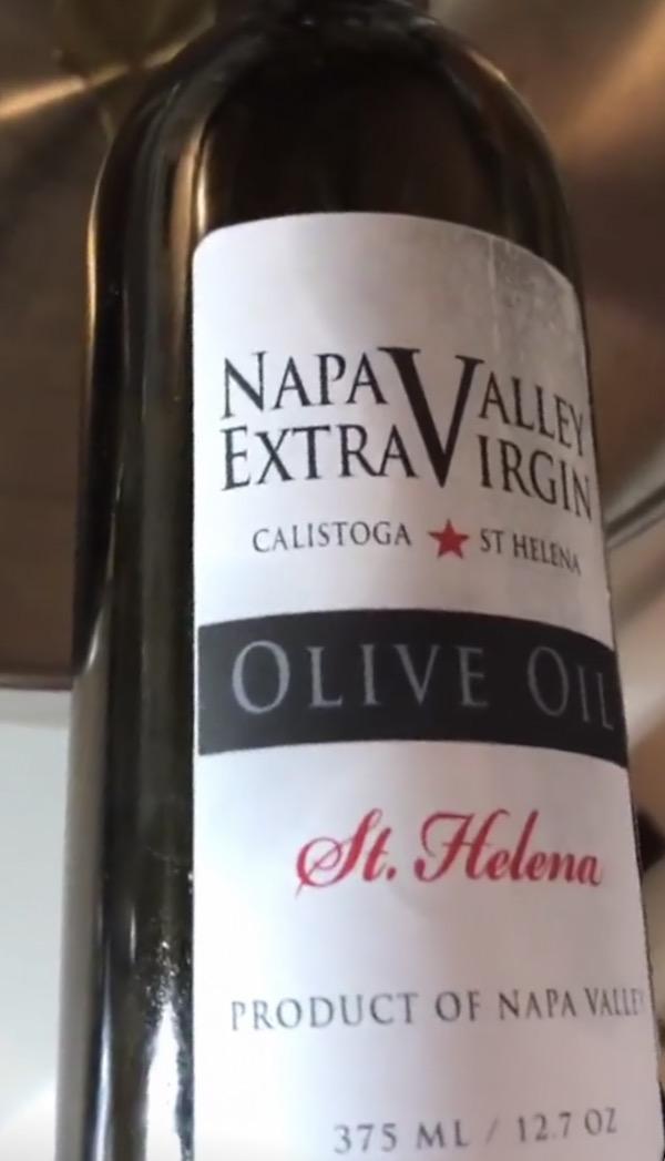 Napa Valley Extra Virgin olive oil