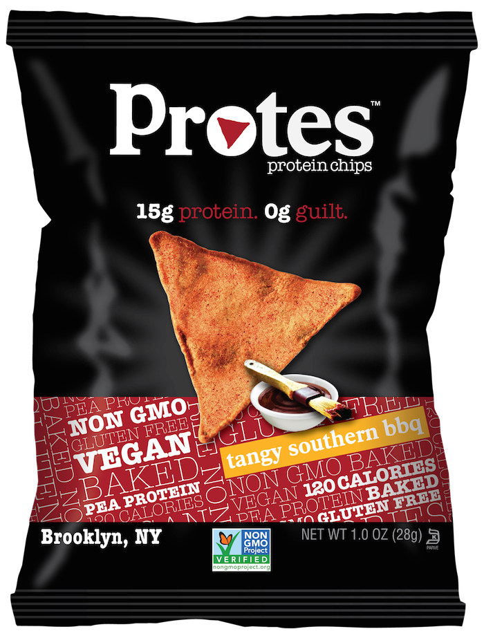 Protes Tangy Southern BBQ protein chips