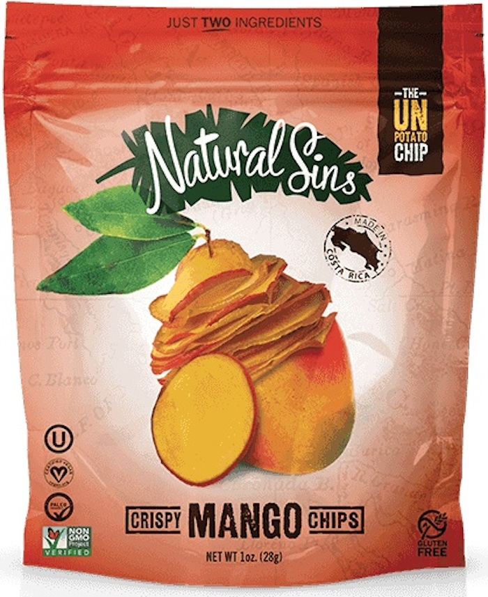 Natural Sins Crispy Mango Chips