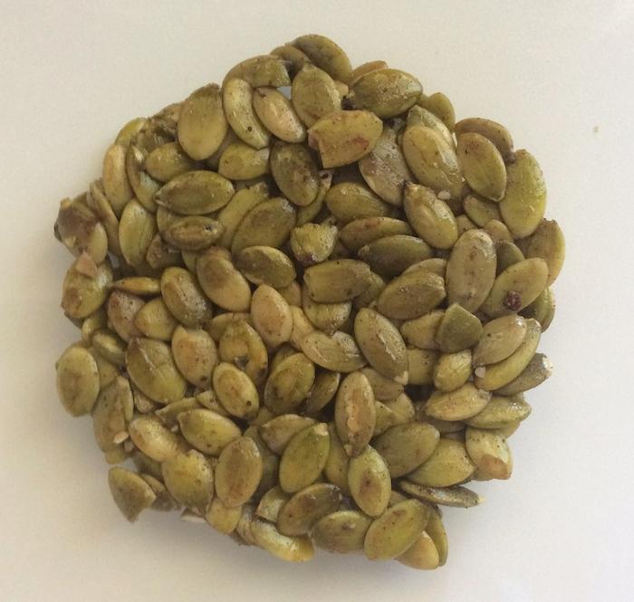 Pumpkin Seed Patties by b Naked Chocolates