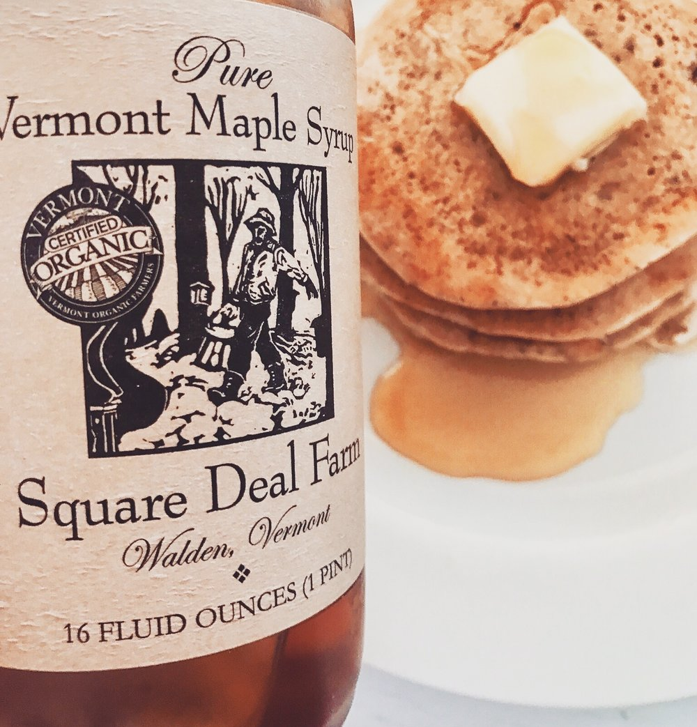 Organic Vermont Maple Syrup