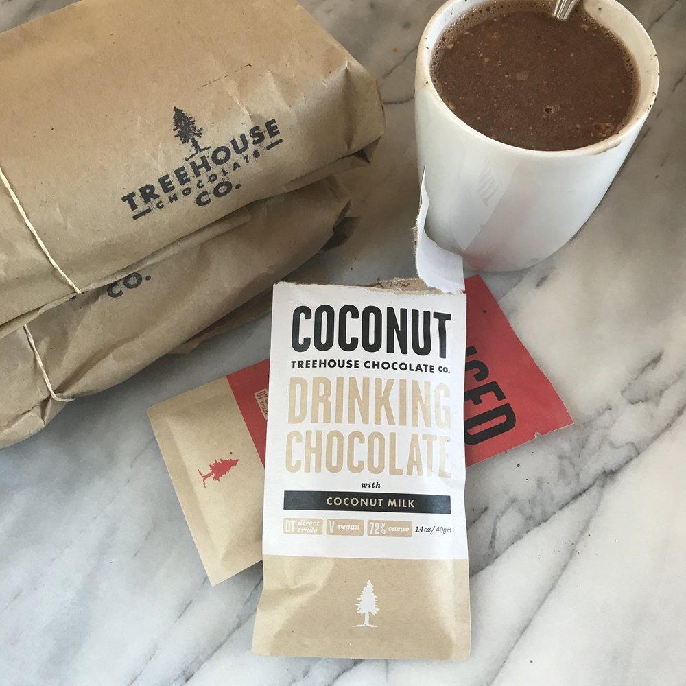 Treehouse Chocolate - Coconut drinking chocolate