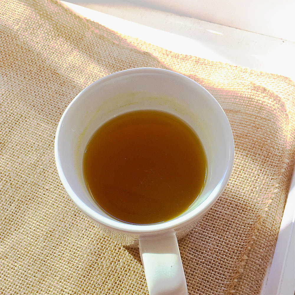 Ginger Turmeric Tea from Physical GraffiTea in Treatmo.