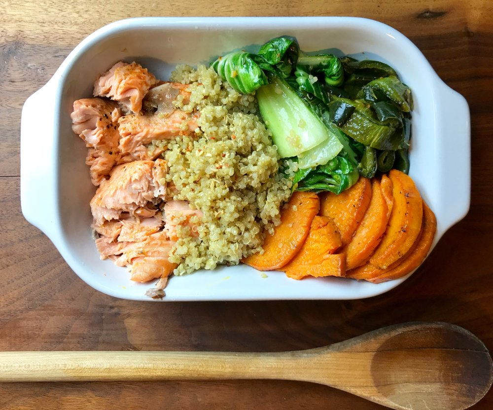 Salmon with  Tastic Spices