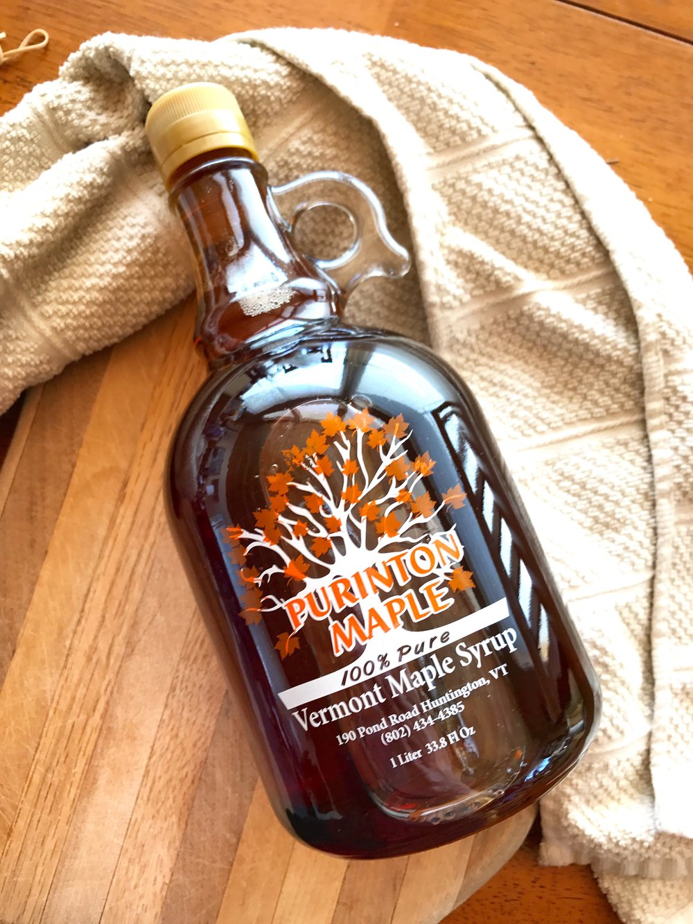 Shop Purinton Maple Syrup 1 Liter for $19.99. Two bottles for $38.00 on  Treatmo iOS App  - convenience shopping for local natural food.