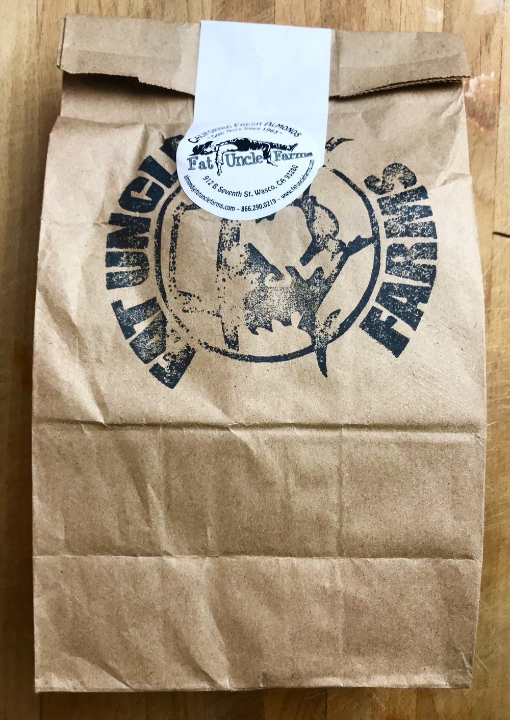 Fat Uncle Farms blanched almond meal flour - direct from the farm!