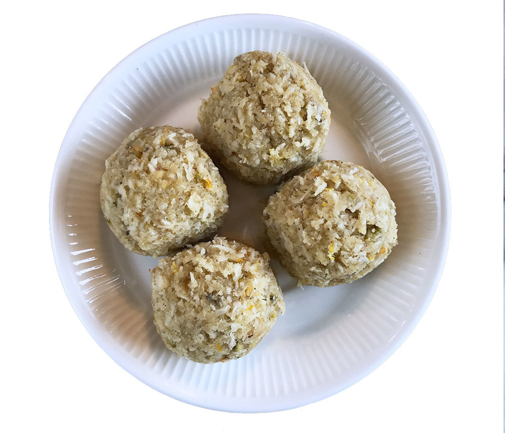 No bake organic macaroons with superfoods at b Naked Chocolates.