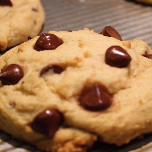 CurlyTop Baker Vegan Chocolate Chip Cookies