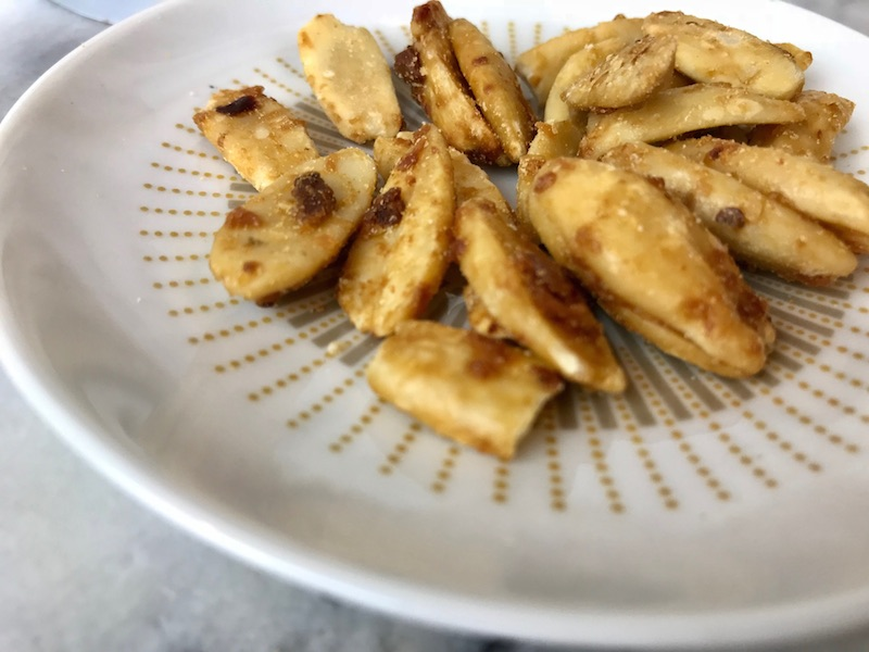 Chili & Garlic Roasted Pili Nuts by Peele Co.