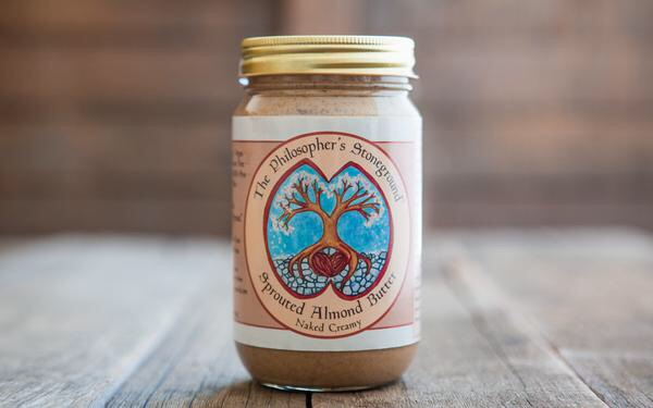 Sprouted Almond Butter by Philosopher's Stoneground