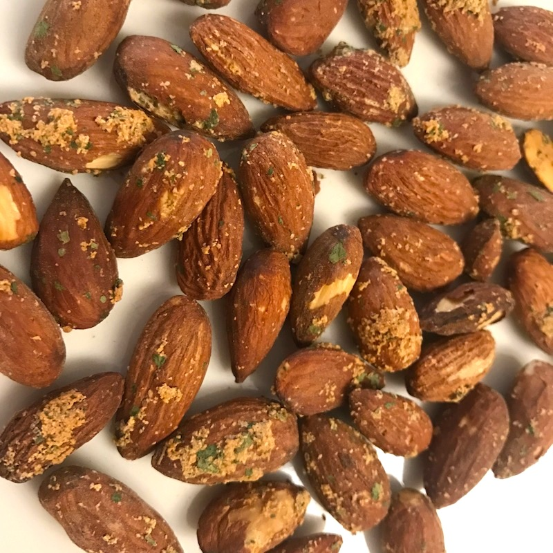 Fat Uncle Farms almonds - Roasted with Garlic & Herb flavoring