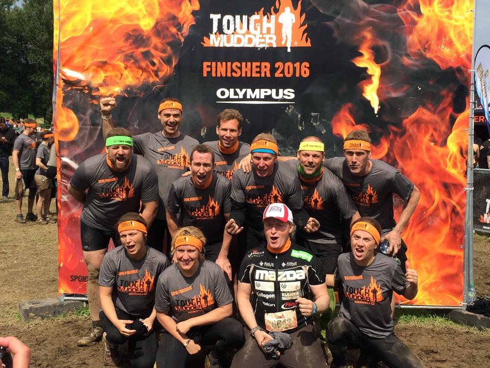 Tough Mudder Finisher