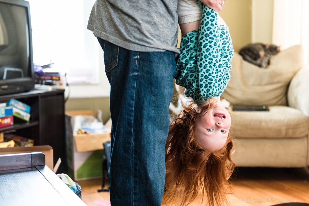 Methuen Day In The Life Family Session | The Casiello Family | Lorna Stell | Photographer | Boston MA