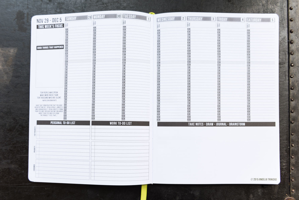 Getting Organized: The Passion Planner | Lorna Stell | Photographer | Boston MA