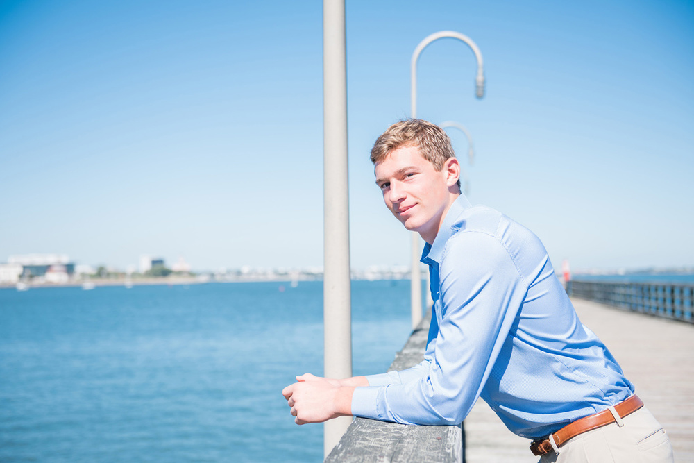 Squantum Point Park Senior Portrait Session | Lorna Stell | Photographer | Boston MA