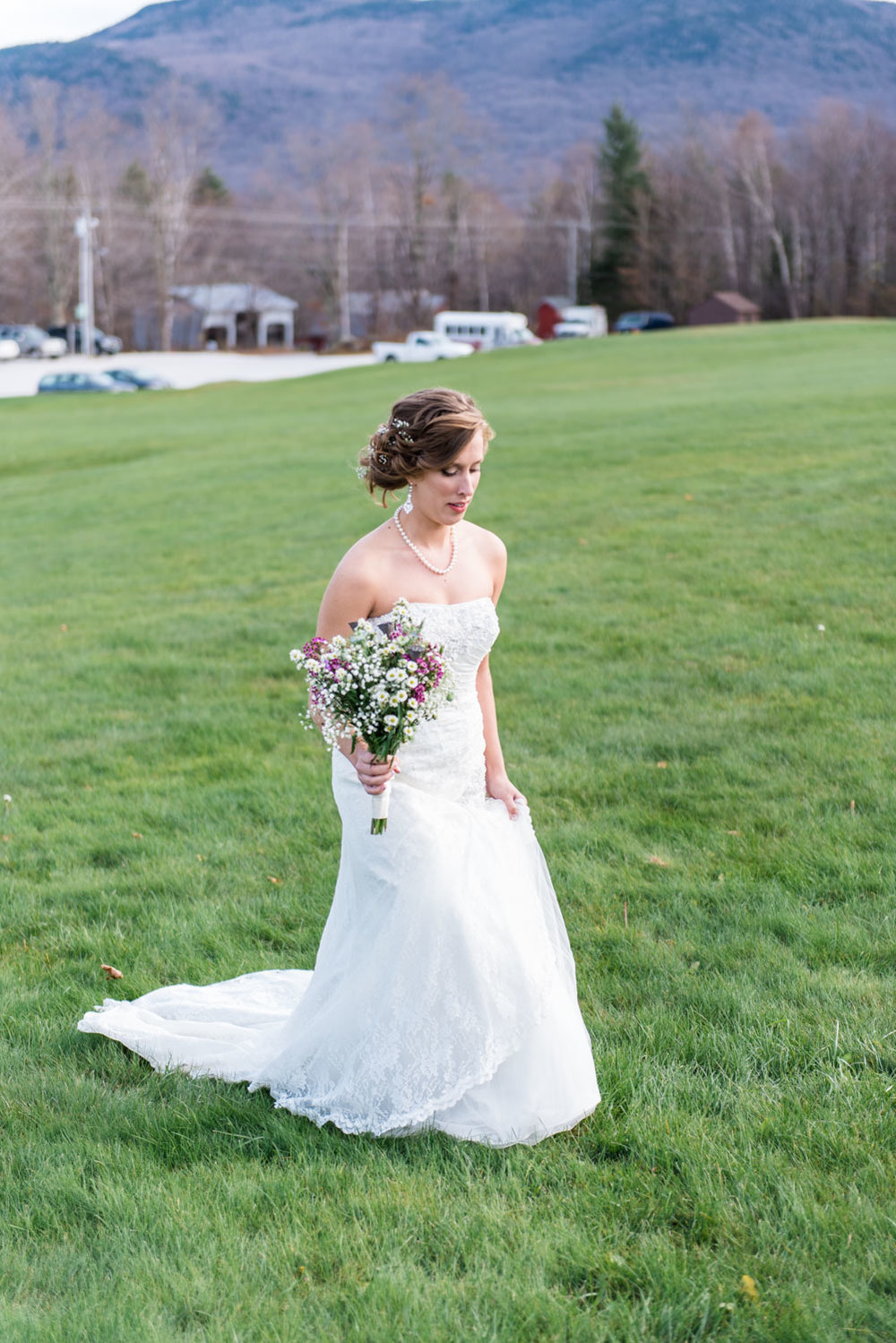 Sam + FJ | Romantic Mountain Top Inn and Resort Vermont Winter Wedding | Boston and New England Wedding Photography | Lorna Stell Photo