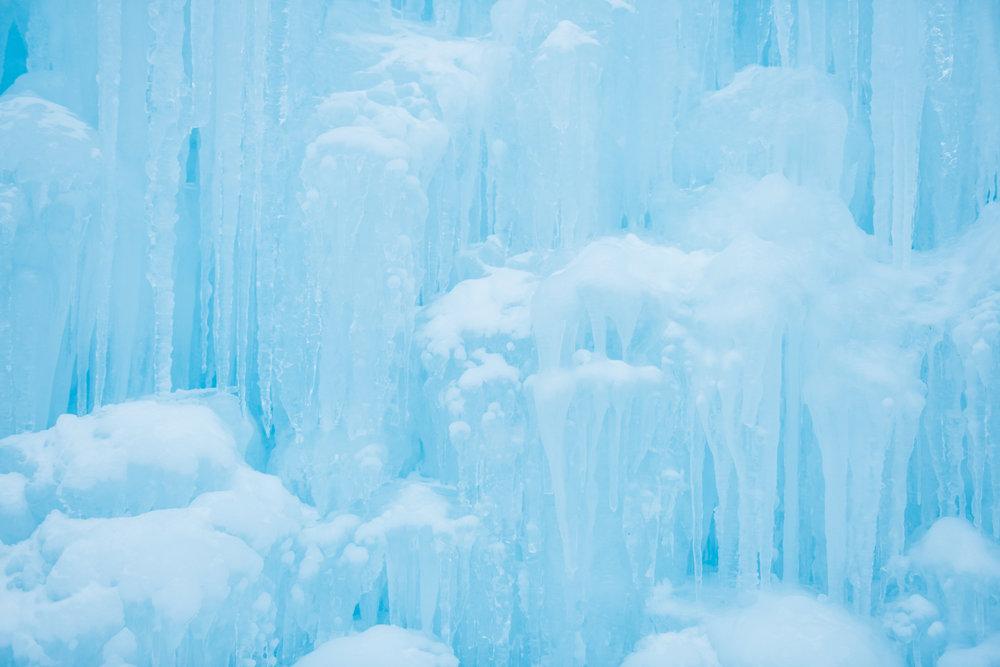 Ice Castles New Hampshire   Boston & New England Adventure Landscape Travel Photography