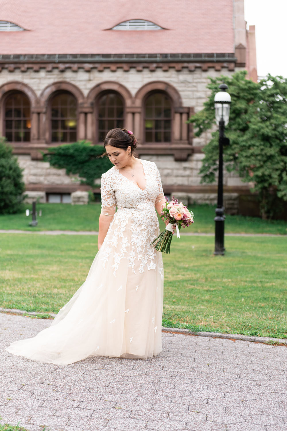 Olga + Albion | Whimsical Quincy City Hall Summer Wedding | Boston and New England Wedding Photography | Lorna Stell Photo