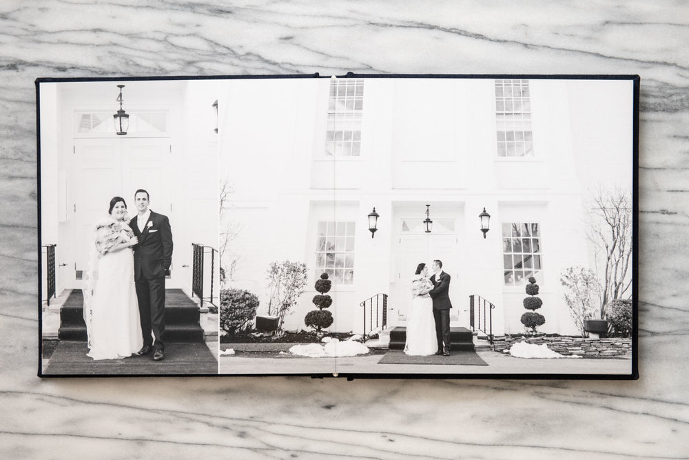 Katelyn + Joe | St. Patrick's Day Topsfield Commons Spring Wedding | Boston and New England Wedding Photography and Black and White Print Album | Lorna Stell Photo