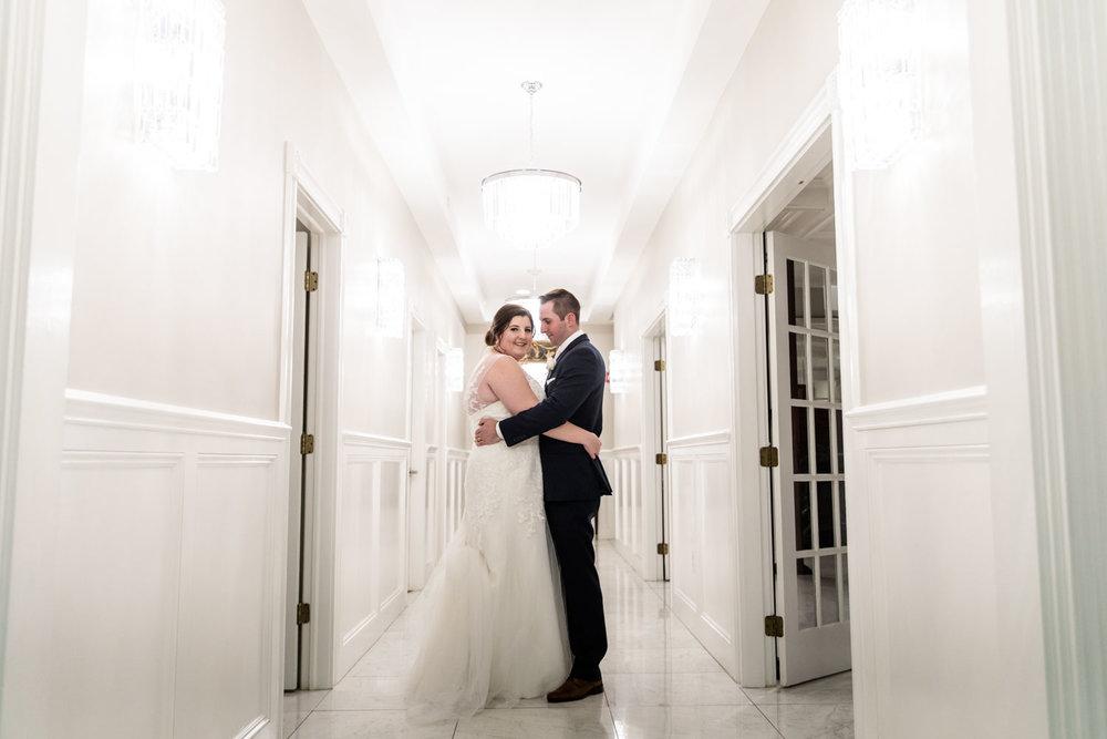 Katelyn + Joe | St. Patrick's Day Topsfield Commons Spring Wedding | Boston and New England Wedding Photography Portraits | Lorna Stell Photo