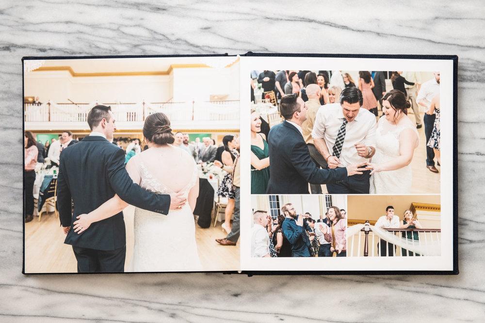Katelyn + Joe | St. Patrick's Day Topsfield Commons Spring Wedding | Boston and New England Wedding Photography and Album | Lorna Stell Photo
