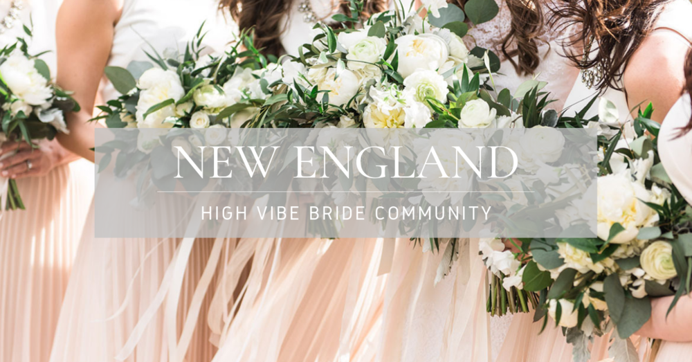 Join the New England High Vibe Bride Community on Facebook