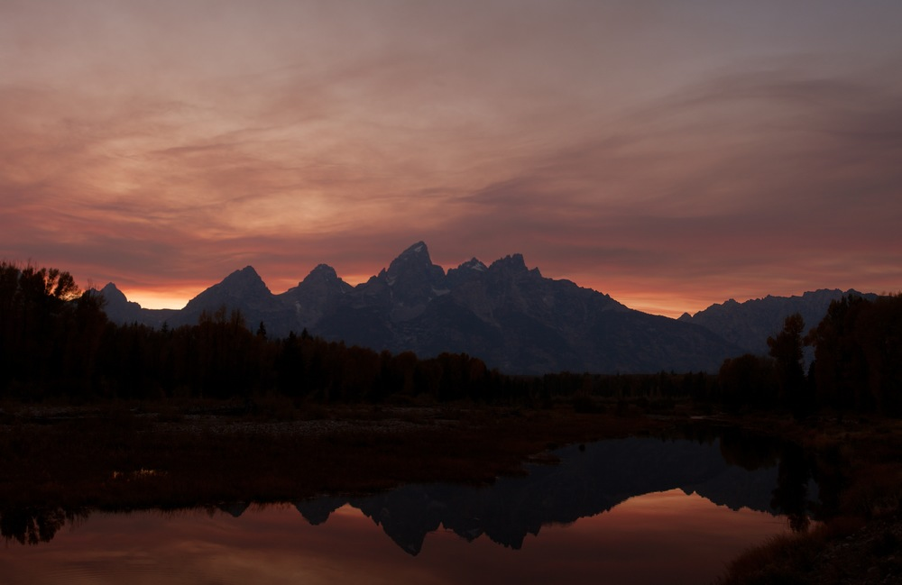 Tetons on Fire