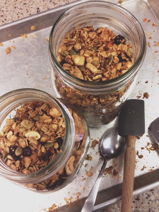 Gluten-free granola.