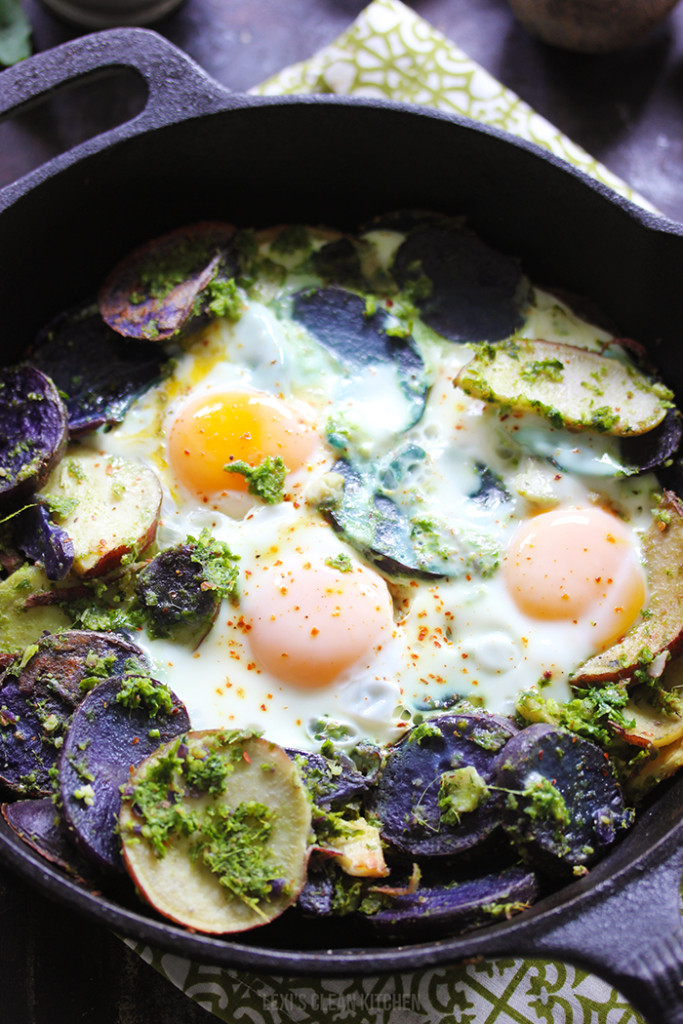 http://lexiscleankitchen.com/2015/07/10/potato-pesto-breakfast-skillet/