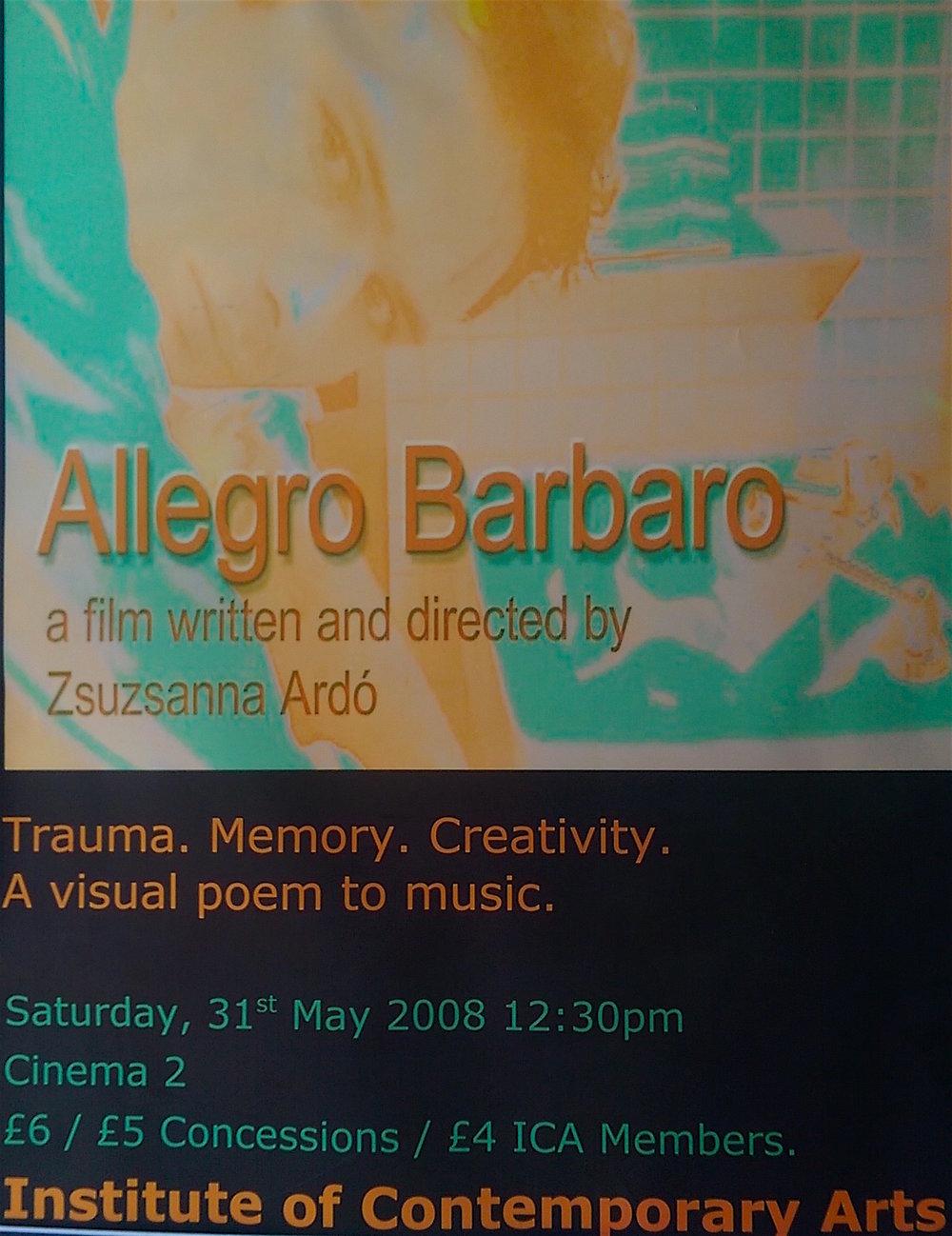 08 uk lon ica Allegro barbaro screening poster©Ardó.jpg