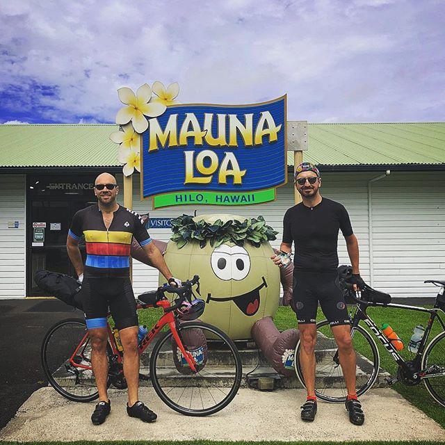 275 miles around the Big Island with this guy. #broloha for life.