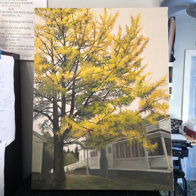 The Story Behind the Gingko Tree — Maria Rizzo Art