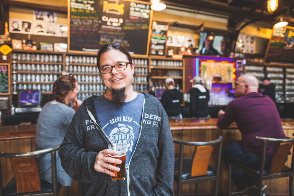 Founders' Brewmaster, Jeremy Kosmicki