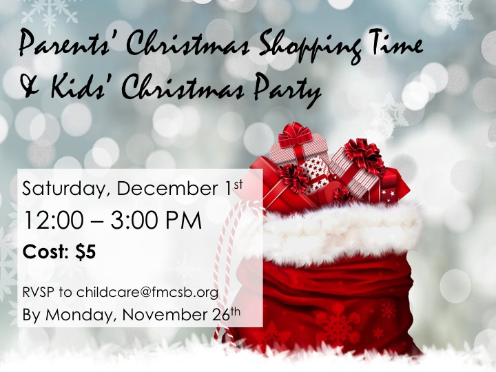 Christmas Party Time Images.Parents Christmas Shopping Time Kids Christmas Party