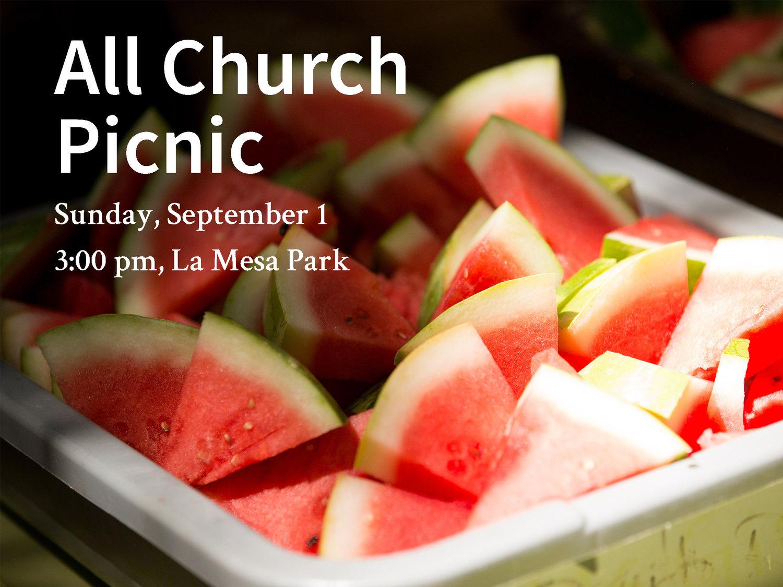 All Church Picnic — Free Methodist Church of Santa Barbara