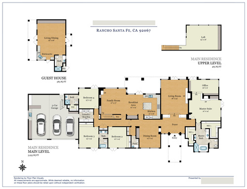 Rancho santa fe floor plans home fatare for Santa fe floor plans