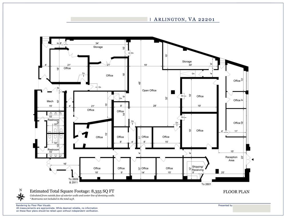 Order: Commercial Floor Plans. U2022u0026nbsp; Location: U0026nbsp;Arlington, VA  U2022u0026nbsp; Property Type: