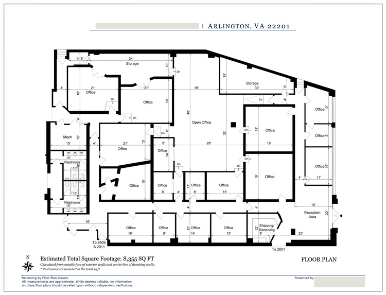 Floor Plan VisualsCommercial Floor Plans