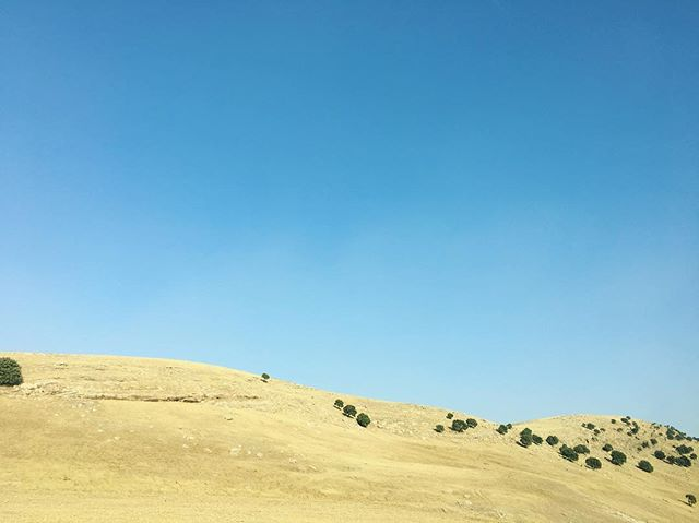 as seen from the road to sulaimaniyah