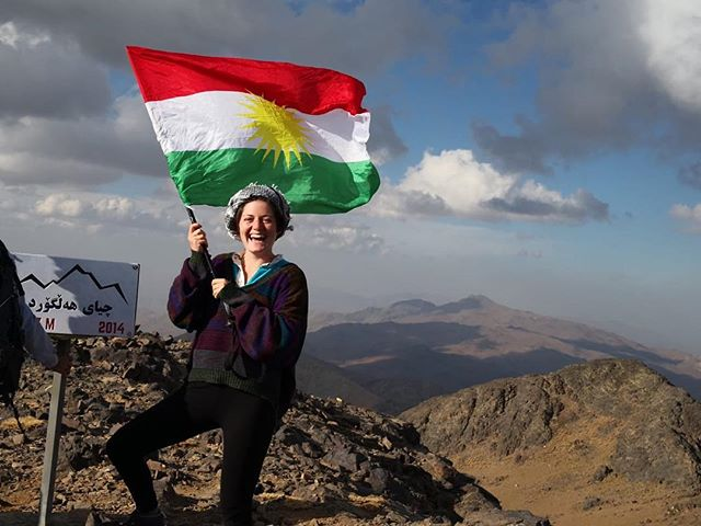 3,067 meters and all the Kurdish pride