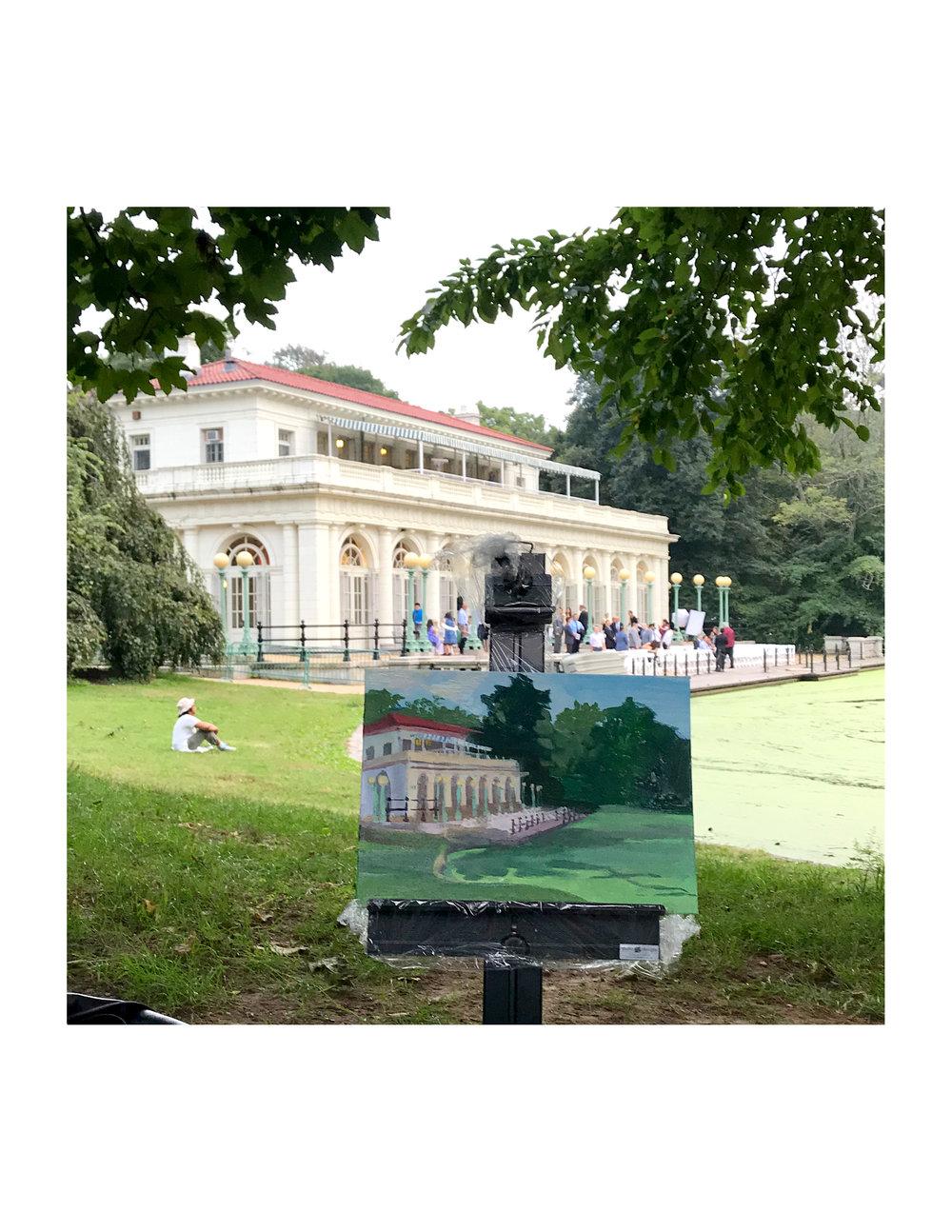 Gouache Practice - Prospect Park