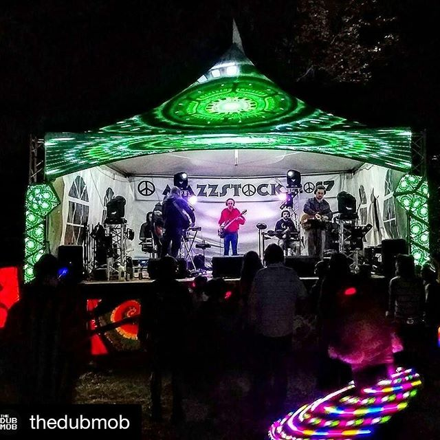Photo by @enztheartist Superb vibes at @MAZZSTOCK X ! Thanks for the family for putting on a killer #silentdisco with @thedubmob and @themushroomcloud!  Check out TDM and TMC perform at Snugs New Paltz on Sat Sept 16!! #electronica #electronicmusic #electronicdancemusic #edmlifestyle #edmlife #edm #dub #dubtronica #bassmusic #synth #synthesizer #effectspedals #pedalboard #musicfestival #hudsonvalley